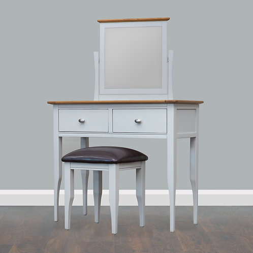 Rennes Dressing Table, Mirror & Stool