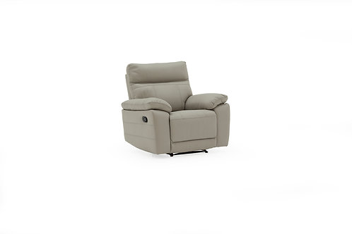 Positano 1 Seater Recliner - Light Grey