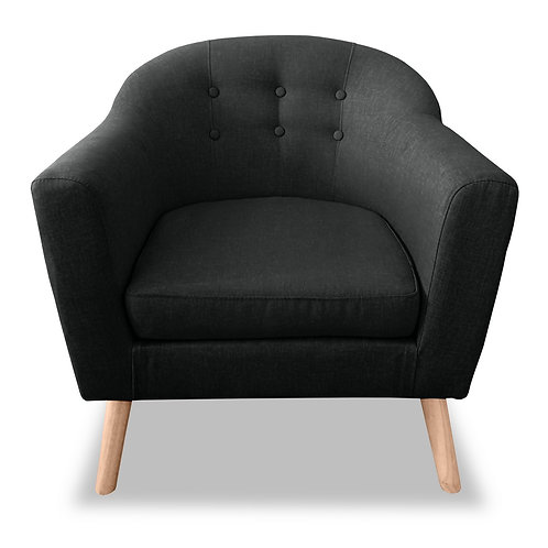 Perig Accent Chair - Charcoal