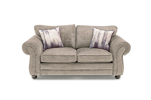 Hollins 2 Seater Fixed - Mink (2 scatter cushions)