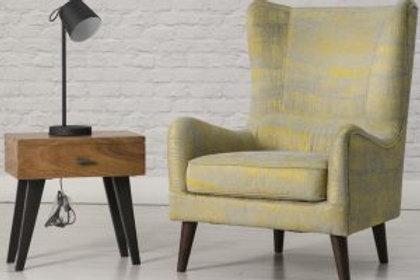 Poppy Chair Mustrad
