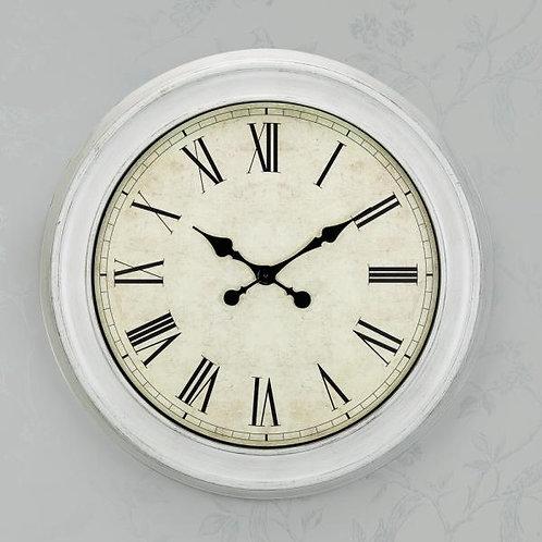 White Oversizw Wall Clock