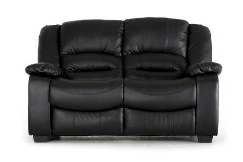Barletto 2 Seater Fixed - Black