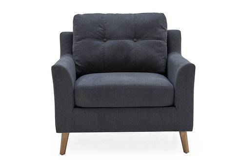 Olten 1 Seater - Charcoal
