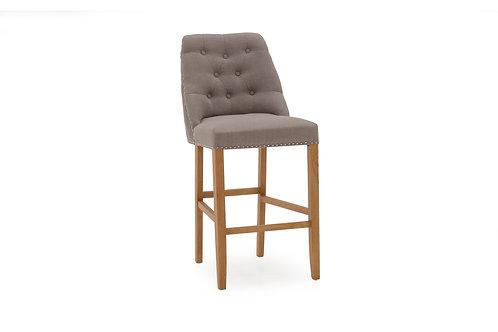 Eldridge Bar Chair - Linen Grey