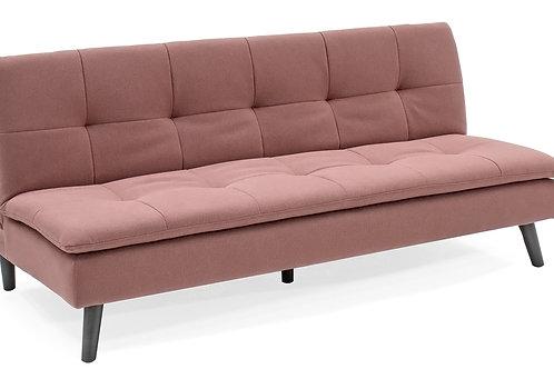 Hannah Sofa Bed - Coral Pink
