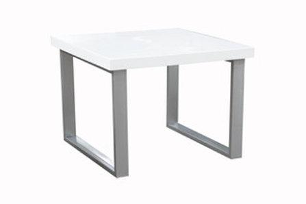 Sierra End Table Chrome