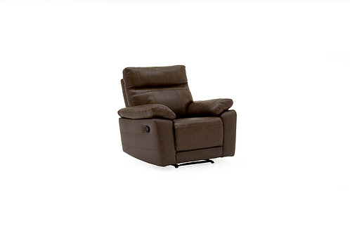 Positano 1 Seater Recliner - Brown