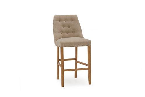 Eldridge Bar Chair - Linen Beige