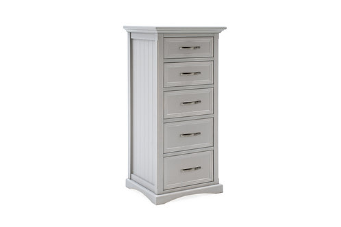 Harlow Tall Chest - Grey