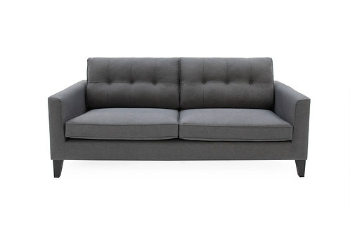 Astrid 3 Seater - Charcoal