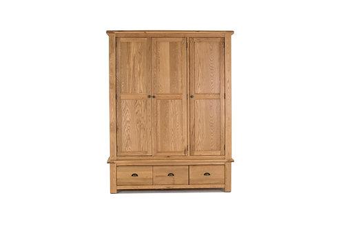 Breeze Wardrobe - 3 Door