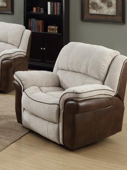 Hampton Fusion Mink & Tan Chair