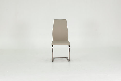 Irma Dining Chair - Brushed Steel Taupe