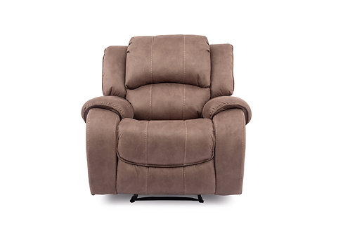 Darwin 1 Seater Recliner - Biscuit