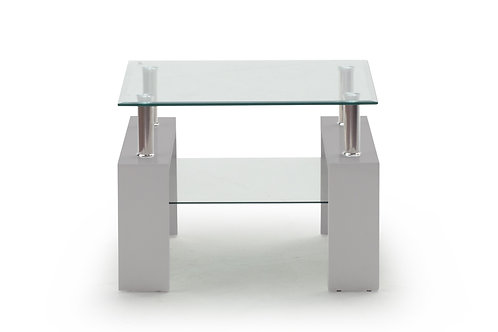 Calico End Table - Grey