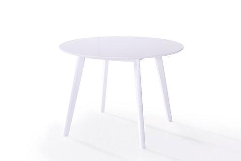 Isla Round Dining Table  - White 1060