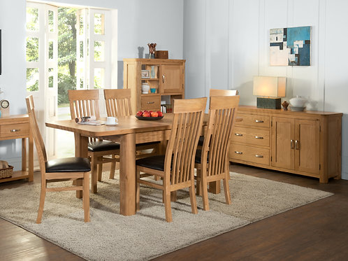 Treviso Ext. Dining Table 6ft-7ft-8ft