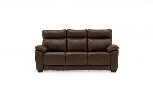 Positano 3 Seater Fixed - Brown