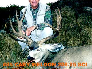 #85 Cary Weldon 208.75 SCI