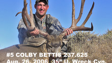 #5 COLBY BETTIS Top 100 Santa Rosa Island Mule Deer Bucks