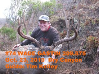 #74 Santa Rosa Island Mule Deer Buck-- Wade Gastin