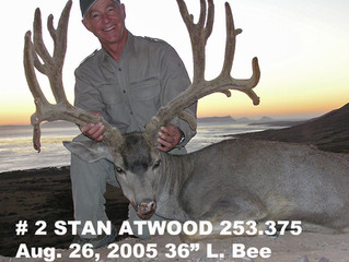 #2 STAN ATWOOD Top 100 Santa Rosa Island Mule Deer Bucks