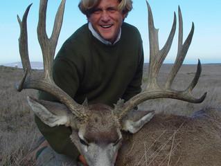 #36 GREG FOWLER Top 100 Santa Rosa Island Mule Deer Bucks