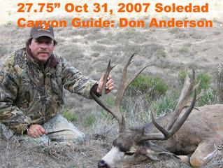 #75 Santa Rosa Island Mule Deer Buck-- Jon Smith