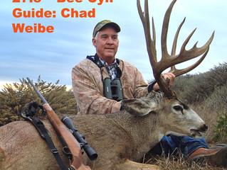 #67 Santa Rosa Island Top 100 Mule Deer Buck- Tim Windsor