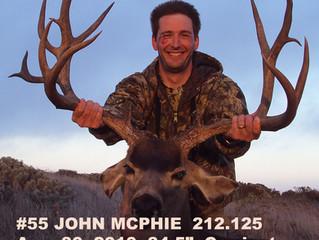 #55 JOHN MCPHIE Top 100 Santa Rosa Island Mule Deer Bucks