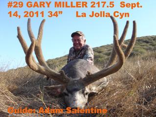 #29 GARY MILLER Top 100 Santa Rosa Island Mule Deer Bucks