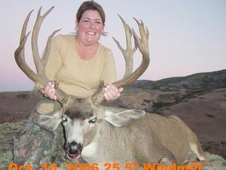 #19 JULIE PERGAN Top 100 Santa Rosa Island Mule Deer Bucks