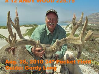 #12 ANDY WOOD Top 100 Santa Rosa Island Mule Deer Hunts