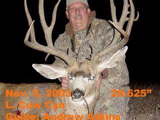 #6 JIM TONKIN Top 100 Santa Rosa Island Mule Deer Bucks