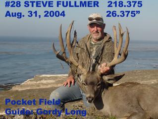 # 28 STEVE FULLMER Top 100 Santa Rosa Island Mule Deer Bucks