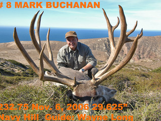 # 8 MARK BUCHANAN Top 100 Santa Rosa Island Mule Deer Bucks
