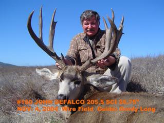 #100 Santa Rosa Island Mule Deer Buck-- John DeFalco