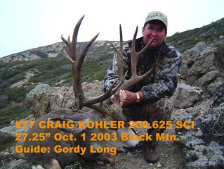 # 77 Santa Rosa Island Mule Deer Buck-- Craig Kohler