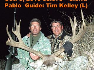 #14 TRENT KELLEY Top 100 Santa Rosa Island Mule Deer Bucks
