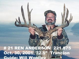 #21 REN ANDERSON Top 100 Santa Rosa Island Mule Deer Bucks