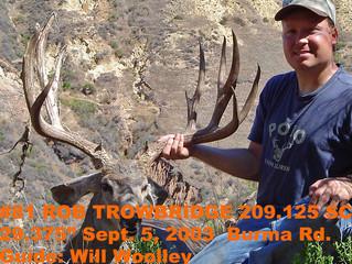 #81 Santa Rosa Island Mule Deer Buck-- Rob Trowbridge