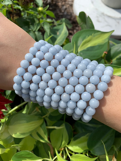 AAA 8mm Angelite Bracelets