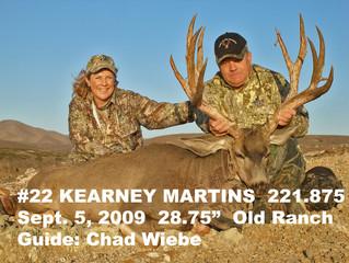 #22 KEARNEY MARTINS Top 100 Santa Rosa Island Mule Deer Bucks