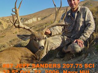 #87 Santa Rosa Island Mule Deer Buck-- Jeff Sanders