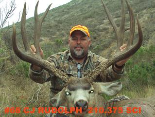 #68 Santa Rosa Island Top 100 Mule Deer Buck- CJ Rudolph