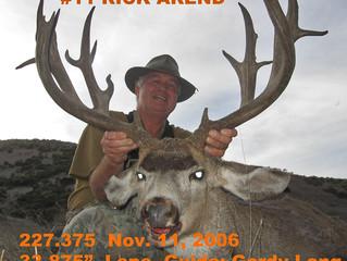 #11 RICK AREND Top 100 Santa Rosa Island Mule Deer Bucks