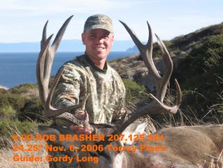 # 90 Santa Rosa Island Mule Deer Buck-- Rob Brasher