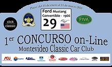 29 - Ford Mustang Conv - 1966 - Largura.