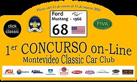 68 - Ford Mustang 1966 - Carlos Mauro.pn